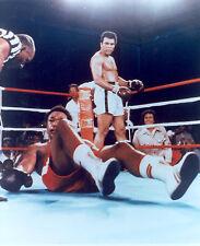 Muhammad Ali & George Foreman Legendary Boxing World Champions 8x10 Glossy Photo