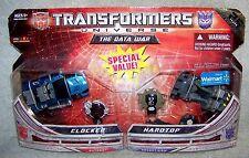 TRANSFORMERS 2009 UNIVERSE RID 25TH ANNIVERSARY THE DATA WAR SET WALMART