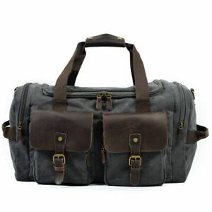 Casual Large Capacity Men Handbags Leisure Hand Luggage Male Travel Canvas Bags