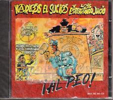 """KARLOS EL SUCIO Y LOS ESPERANDO JUICIO """"¡AL PEO!"""" CD SEALED / EXTREMODURO - PUNK"""