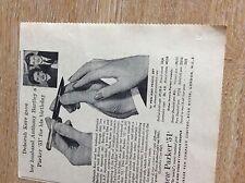 T1-1 ephemera 1955 advert deborah kerr parker 51 anthony bartley