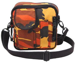 Excursion Organizer Shoulder Bag Orange Camo Rothco 2323