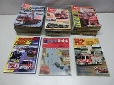 Konvolut 87 Feuerwehr Magazine / Hefte ab 1987, 112 blaulicht Freak #1534