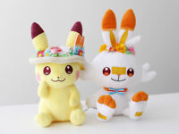 Pokemon Center Original Plush doll Easter 2020 Pikachu & Scorbunny