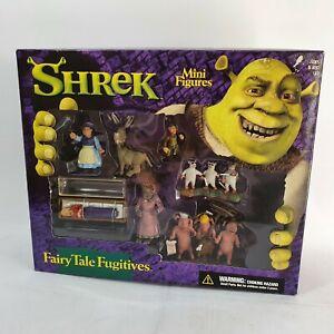 Fairy Tale Fugitives Shrek Mini Figure McFarlane Toys Boxed Set New Sealed
