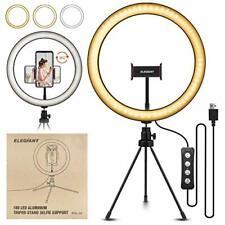 "Anillo de luz 10.2"" LED elegiant Trípode Foto Video Lighting Kit Selfie YouTube Nuevo"
