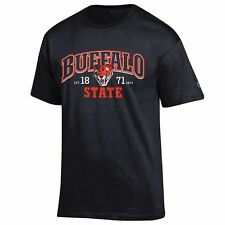 Buffalo State Bengals T shirt NCAA by Champion Black