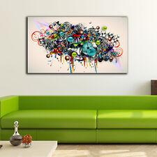 60×100×3cm Graffiti Art Canvas Prints Framed Wall Art Home Decor Gift Painting
