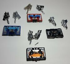 Vintage Transformers G1 Cassette Lot of 4 Ravage Frenzy others 1980's