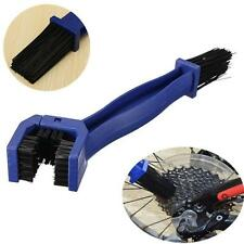 Cycling Motorcycle Bicycle Chain Crankset Brush Cleaner Cleaning Tool Blue