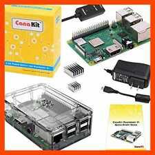 Canakit Raspberry Pi 3 B+ B Plus W Premium Clear Case & 2.5A Power Supply