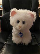"Build A Bear Plush Promise Pets Cat White Himalayan Persian Cream Puff 12"""