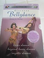 Discover Bellydance 3 DVD Box Boxed Set Instructional NEW Bellydancing
