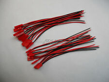 10 pairs 145mm JST Plug Connector Cable Male & Female For RC Lipo Battery M444