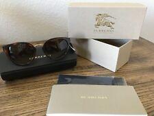 NWT BURBERRY Sunglasses BE 4249 3316/13 Light Havana /Gradient Brown 53mm 331613