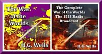 The War of the Worlds - H.G.WELLS - Radio Broadcast & Book - MP3 DOWNLOAD