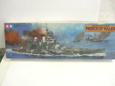PRINCE OF WALES - Tamiya 1/350 scale British Battleship Kit #7311-6500 NIB