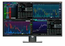 """DELL P4317Q 43"""" IPS LED WIDESCREEN 3840X2160 ULTRA HD 4K MULTI-CLIENT MONITOR"""