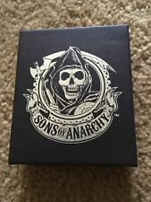 2012 Sons Of Anarchy Men of Mayhem Stainless Steel Ring Size 7-3/4