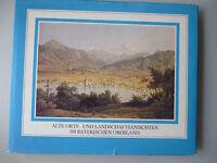 Alte Orts- und Landschaftsansichten im Bayerischen Oberland 1980