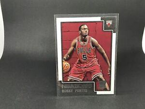 BOBBY PORTIS. 2015-16 NBA Hoops Rookie Card. Card #275. Chicago Bulls.