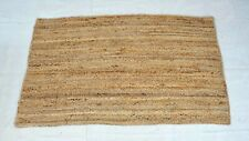 Home Decoration Natural jute Braided hand loom bed side Runner Handmade Rags 3x5