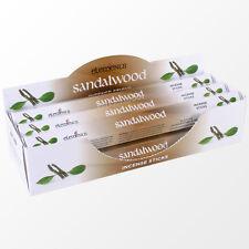 New Elements Sandalwood Incense Joss sticks. 20 sticks, 1 pack.