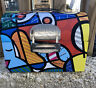 """Romero Britto """"Workman's Lunchbox"""" Collectable Tin Lunch Box"""