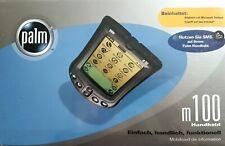 PALM m100 PDA Organizer Pocket PC neu unbenutzt original in OVP mit Zubehör