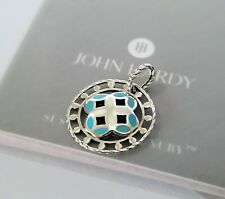 John Hardy - Turquoise Sterling Silver Pendant!