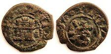 Spain-Felipe III. 2 Maravedis. 1602. Segovia. Sin ensayador. Cobre 1,5 g. Escasa