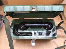 3 x Ex MOD TMC LTD UK PTC 405 Field Telephone