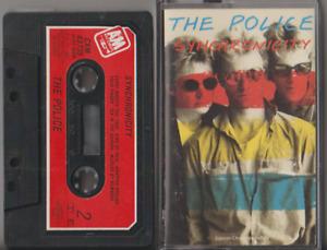 The Police 'Synchronicity' Cassette Album (1983) Chrome