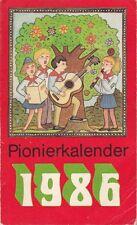 Pionierkalender 1986/DDR/Kinderbuchverlag Berlin