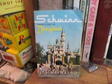 Schwinn takes a trip to Disneyland 1966 sales brochure bicycle booklet 35 Pages