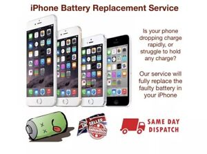 Iphone SE Battery Replacement Service - Same day repair and rerun 📱✅
