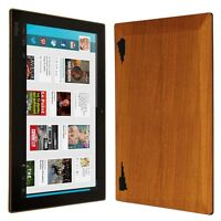 Skinomi Light Wood Skin+Clear Screen Protector for Kobo Arc 10 HD