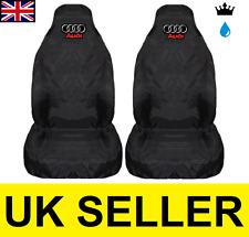 AUDI A6 PREMIUM CAR SEAT COVERS PROTECTORS 100% WATERPROOF / BLACK