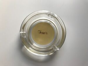 Forio's Vintage Clear Glass Ashtray
