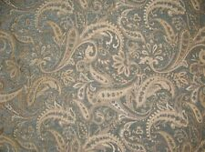 "Upholstery Chenille Paisley Royalty Paisley Drapery fabric by the yard 57"" wide"