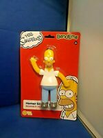 The Simpsons Homer Simpson Bendable Figure Bend-Ems Sunny Days NJ Croce New