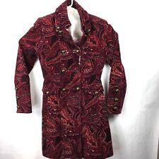 e53f63bbfbf Karen Millen Paisley 3/4 Legth Women's Coat Size 4 US Paisley