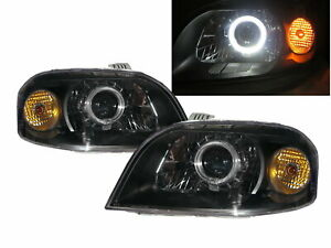 PONTIAC G3 Wave 2007-2009 Sedan CCFL Projector Headlight Black for PONTIAC LHD