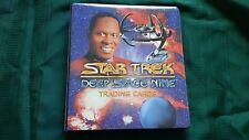 Skybox 1994 Star Trek Deep Space Nine binder and Card set in Pages