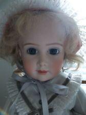 "Estate Reproduction Kestner At Thuillier A.T. Doll 18"" Porcelain Antique Repro"