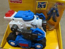 imaginext Robot Police Tank Sounds and Lights Figure NEW