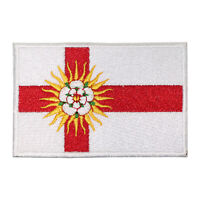 West Riding County Flag Patch Iron On Patch Sew On Embroidered Patch