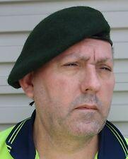 BERET RIFLE GREEN RAR - 100 WOOL SIZE 56-58cm MEDIUM AUSTRALIAN INFANTRY CORPS