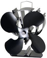 VODA  Heat powered wood stove fan for wood log burner /fireplace eco Fan