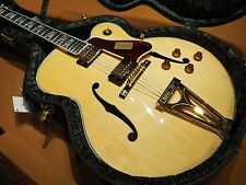 2016 Gibson Super 400 Thinline Hollowbody M2M Archtop Jazz Guitar Natural *592